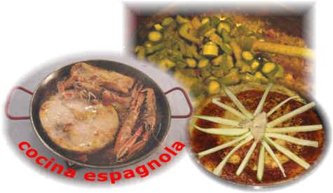Cucina fusion e ricette dal mondo for Cucina spagnola